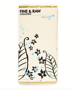 Fine & Raw Chocolate  - Sea Salt 70%