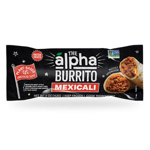 Vegan Mexicali Burrito - The Alpha Burrito Case of 12