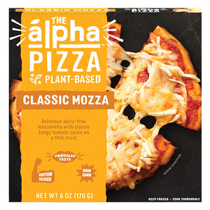 Vegan Cheese Pizza - The Alpha Pizza