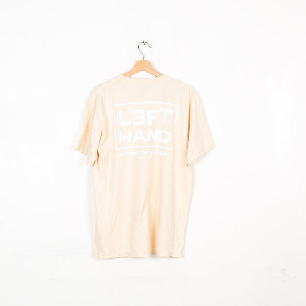 Left Hand Montauk Coffee Company Tee - Bone