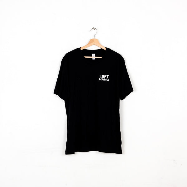Left Hand Montauk Coffee Company Tee - Black