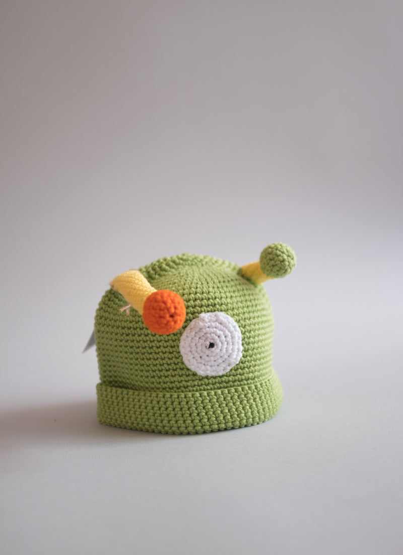 Gorro para bebé Grrrreen Monster