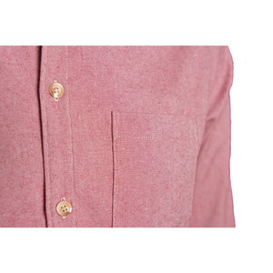Men's Hollow-Fiber Button-Down, Red Twill