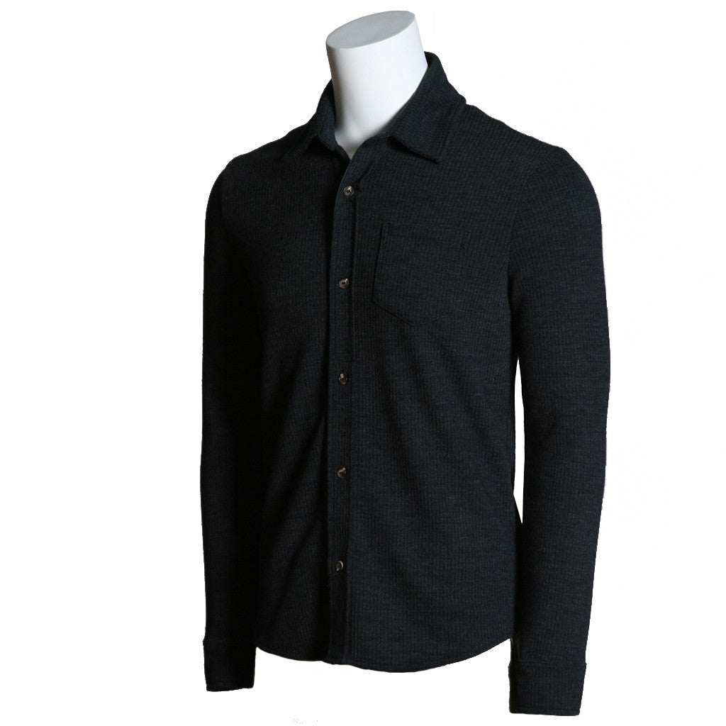 Wool Shirt with side Buttons FnxxndIH