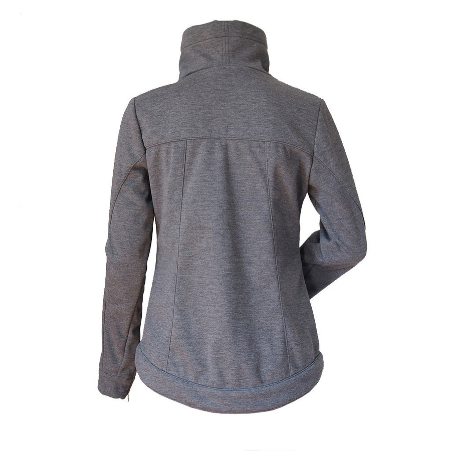 Women's Paige Softshell Jacket, Heather Grey
