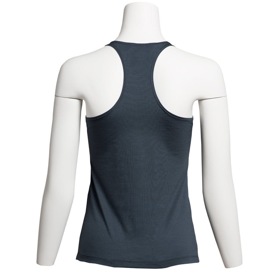 Women's Acacia Merino Tank Top, Steel