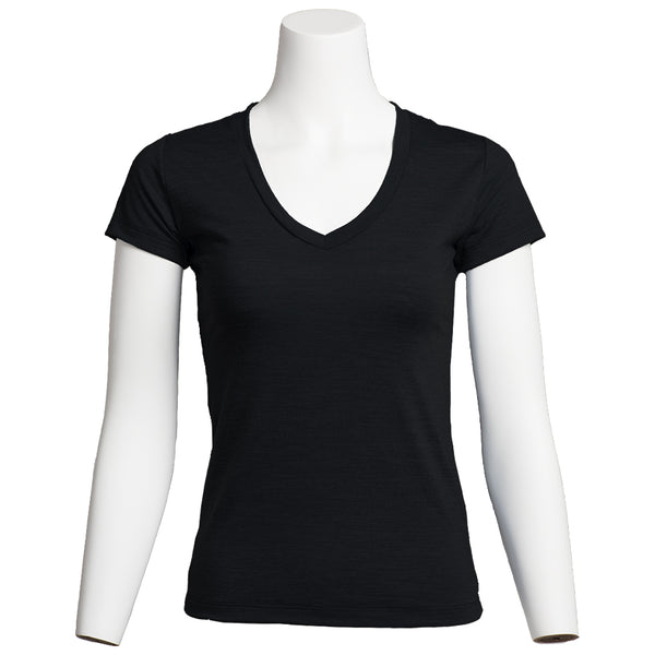 Women's Ultrafine Merino Shirt, Black