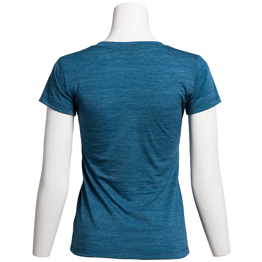 Women's Merino Wool Shirt, Deep Water