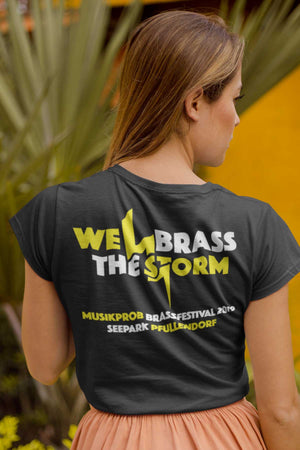 "MUSIKPROB - ""WE BRASS THE STORM"" 2019 T-Shirt Damen"