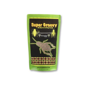 WHOLESALE - SUPER GROOVY ALL NATURAL BUG FOOD (DOZEN LARGE)