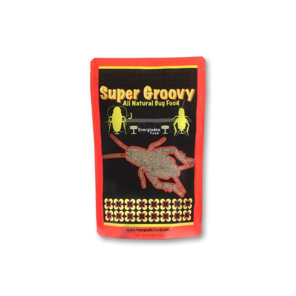 WHOLESALE - SUPER GROOVY ALL NATURAL BUG FOOD (DOZEN SMALL)