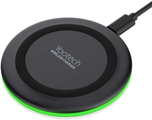 Wireless Charger Qi-Certified 10 W Max Fast Wireless Charging Pad Compatible