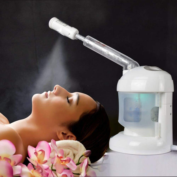 Facial Steamer, with Extendable Arm Table Top Ozone Spa Face