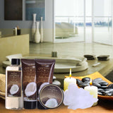 Spa Gift Basket Coconut Fragrance, Luxurious 5pc Gift