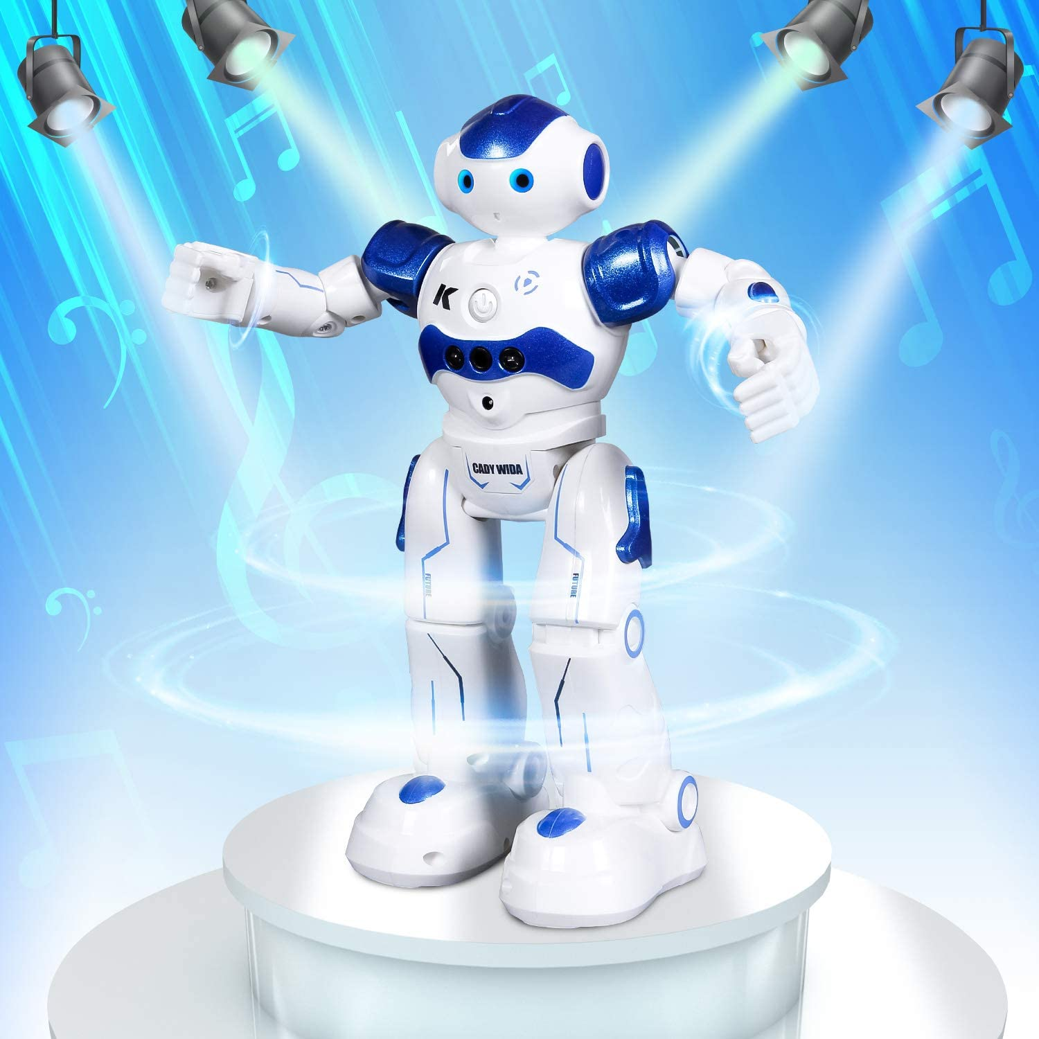 Robot Toy, Programmable Intelligent Walk Sing Dance Robot for Kids