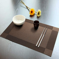 Placemat, 6 PCS of Non-Slip Heat Resistant