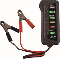 12V Car Battery & Alternator Tester - Test Battery Condition & Alternator Charging