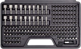 208 Piece Ultimate Screwdriver Bit Set, High Grade Carbon Steel, Includes Hard-to-Find Security Bits