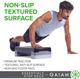 Exercise Step Platform Aerobic Stepper Bench