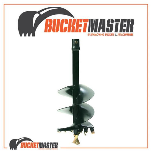 DIGGA AUGER 300mm DIA up to 4.5T - 65mm Round Shaft, EXCAVATOR, SKID STEER, LOADER, BOBCAT