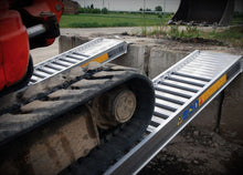 "Load image into Gallery viewer, ""Ezi-Loada""  Digga 1.0 Tonne Loading Ramps for Excavator, Bobcat or Positrack"