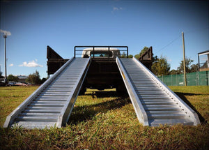 """Ezi-Loada""  Digga 1.0 Tonne Loading Ramps for Excavator, Bobcat or Positrack"