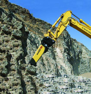 SOOSAN SQ120 ROCK BREAKER 28-35 TONNE