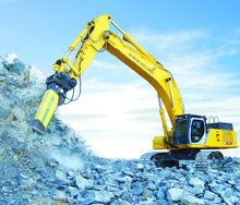 Load image into Gallery viewer, SOOSAN SQ140 ROCK BREAKER 36-50 TONNE