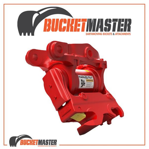 PowerLatch Tilt Hydraulic Hitch Excavator 6 - 9 Tonne
