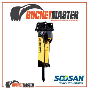 SOOSAN SQ150 ROCK BREAKER 40-60 TONNE