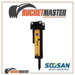 SOOSAN SQ50 ROCK BREAKER 9-16 TONNE