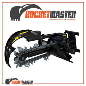 DIGGA BIGFOOT TRENCHER - Suits up to 5T - COMBO Chain - EXCAVATOR, SKID STEER, LOADER, BOBCAT