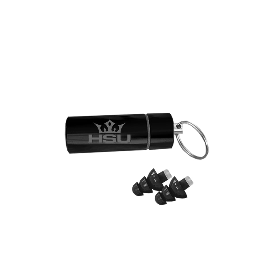 HSU Custom Ear Plugs (Black)