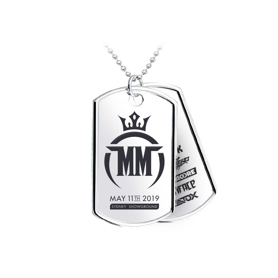 Midnight Mafia 2019 Dog Tag