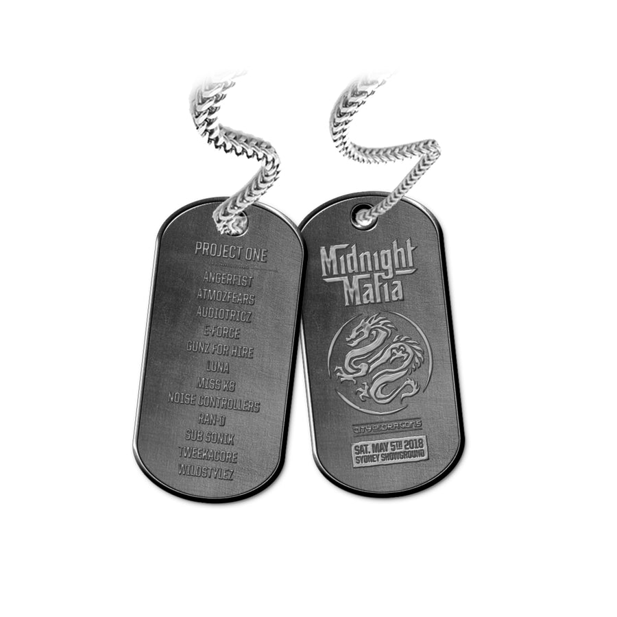Midnight Mafia 2018 Dog Tag