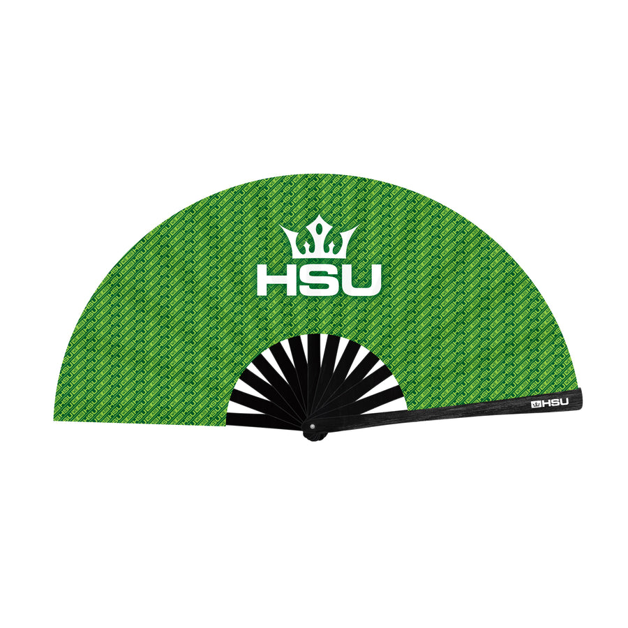 HSU Large Handfan (Green)