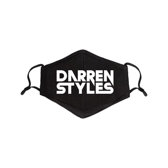 50 Darren Styles Face Mask (Front Print)