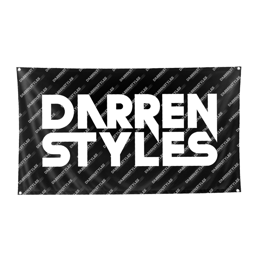 Darren Styles Flag (DS Design Print) (Black)