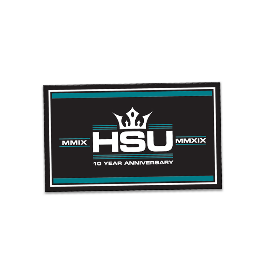 Anniversary HSU Patch: Rectangle Flag