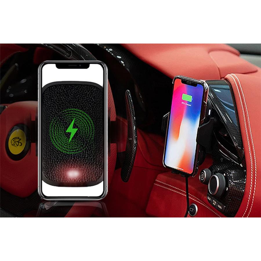 AZEON Auto-Clamping Wireless Charging Car Mount
