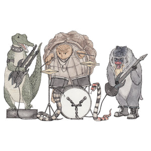 The Rockers - A4 Art Print