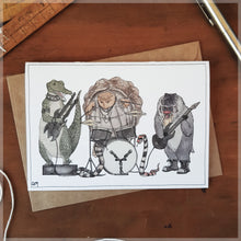 The Rockers - Greeting Card