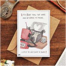 Fluent in Love - Greeting Card
