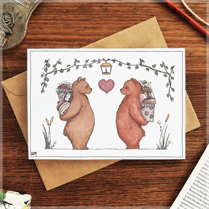 My Honey Bear - Greeting Card