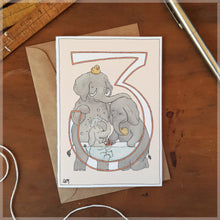 3rd Birthday - Greeting Card
