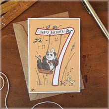 7th Birthday - Greeting Card