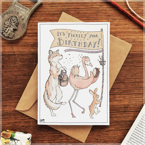 Birthday Parade - Greeting Card