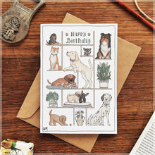 Happy Birthday, Puppy-Lover! - Greeting Card