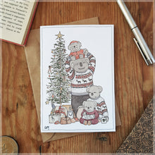 Christmas Koalas - Greeting Card