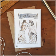 Wolfie Wedding - Greeting Card